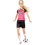 Barbie Made To Move Doll - Soccer Player (DVF69)