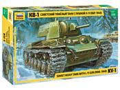 Звезда Советский тяжелый танк образца 1940 г. с пушкой Л-11 КВ-1