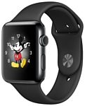 Apple Watch Series 2 38mm Space Black with Black Sport Band (MP492)