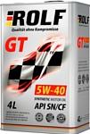 ROLF GT 5W-40 SN/CF 4л