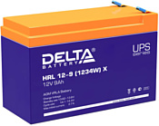 Delta HRL 12-9 (1234W) X