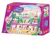 SLUBAN Розовая мечта M38-B0251 Замок принцессы