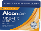 Alcon Air Optix Night & Day Aqua +4 дптр 8.6 mm