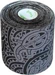 Dynamic Tape Eco DT75TTEB (7.5 см x 5 м, черный/серое тату)