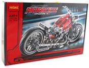 DECOOL Мотоцикл Королевский рулевой 3354