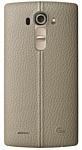 LG Genuine Leather Back для LG G4 (бежевый)