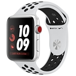 Apple Watch Series 3 Cellular 42mm Aluminum Case with Nike Sport Band