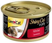 GimCat (0.07 кг) 48 шт. ShinyCat с курочкой
