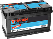 Hagen Starter 58015 (80Ah)