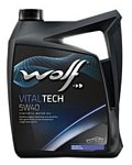 Wolf Vital Tech 5W-40 5л