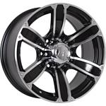 LS Wheels LS766 8x17/6x139.7 D107.1 ET10 BKF