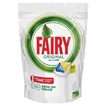 "Fairy Original Lemon ""All in 1"" (60 tabs"