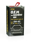 Mannol O.E.M. for Daewoo metal 5W-40 1л