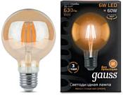 Gauss E27 6Вт 2400К (105802006)