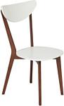 TetChair Maxi жесткое сиденье (белый/бук коричневый)