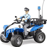 Bruder Police-Quad with Police officer and accessories 63010
