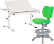 TCT Nanotec M6+XS с креслом Kids Chair (белый/серый)