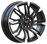 NZ Wheels F-8 6.5x16/5x114.3 D66.1 ET40 BKPS