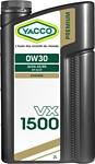 Yacco VX 1500 0W-30 2л