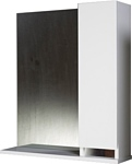 АВН Бергамо 60 шкаф с зеркалом правый (47.02)