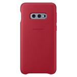 Samsung Leather Cover для Samsung Galaxy S10e (красный)