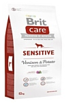 Brit (12 кг) Care Sensitive Venison & Potato
