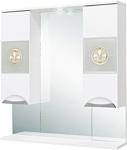 Onika Шкаф с зеркалом Флорена 78.01 (белый) (207802)