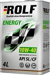 ROLF Energy 10W-40 SL/CF 4л