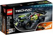 LEGO Technic 42072 Зеленый гоночный автомобиль