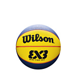 Wilson FIBA 3X3 Mini Rubber Basketball WTB1733XB (3 размер)