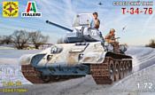 Моделист Советский танк Т-34-76 307201