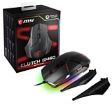 MSI Clutch GM60 GAMING Mouse, Black,RGB, USB