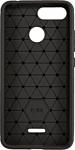 Case Brushed Line для Xiaomi Redmi 6 (черный)