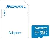 Smarto microSDXC Class 10 UHS-I U1 64GB + SD adapter