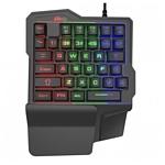 Ritmix RKB-209 BL Gaming Black USB