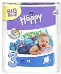 BELLA Baby Happy 3 MIDI (5-9 кг) 72 шт