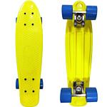 Display Penny board Yellow/blue