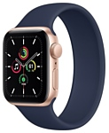 Apple Watch SE GPS 40mm Aluminum Case with Solo Loop