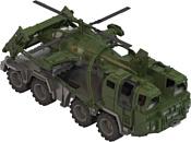 Нордпласт Военный тягач Щит с вертолетом 256