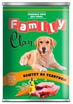 CLAN (0.415 кг) 1 шт. Family Паштет из телятины для собак
