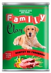 CLAN (0.415 кг) 1 шт. Family Паштет из говядины для собак