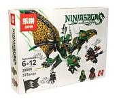 Lepin NinjaGo 39008 Зелёный Дракон Ллойда