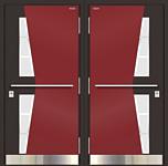 Belswissdoors Норд 85 Термико НС-38СН16 (муар темно-бордовый)
