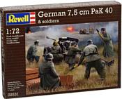 Revell 02531 Немецкое противотанковое орудие PaK40