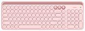 MiiiW Dual Mode Keyboard Pink Bluetooth