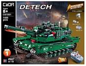 Double Eagle CaDA deTECH C61001W Танк M1A2 Abrams 2в1