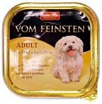 Animonda Vom Feinsten Adult для собак с говядиной и картофелем (0.15 кг) 1 шт.