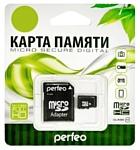 Perfeo microSDHC Class 10 32GB + SD adapter