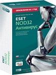 NOD32 Антивирус (1 ПК, 1 год) продление лицензии