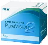 Bausch & Lomb Pure Vision 2 HD (от +1,0 до +6,0) 8.6mm